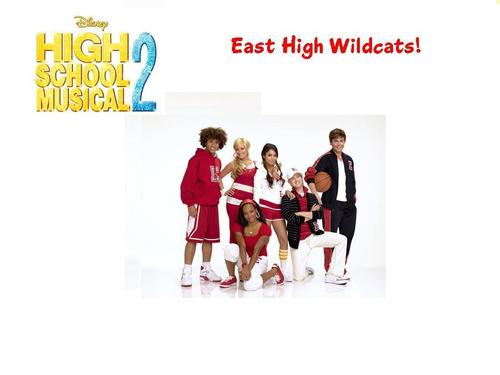 High School Musical 3 바탕화면 called East High Wildcats