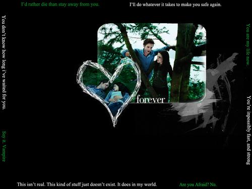 Edward&Bella wallpaper