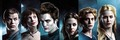 Edward Cullen and Bella sisne