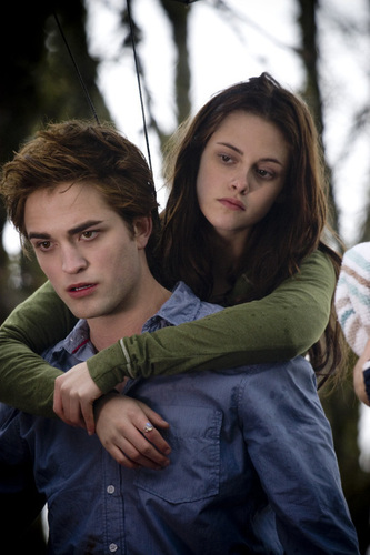 Edward Cullen and Bella лебедь