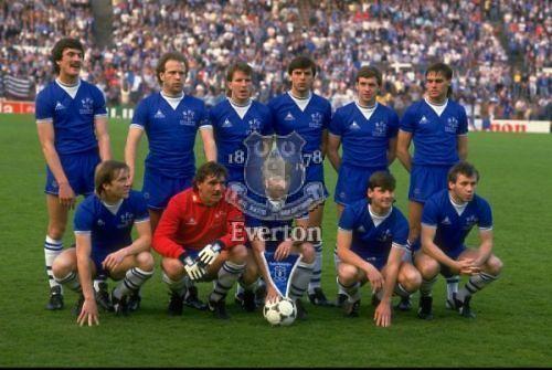 Everton european cup winners 1985