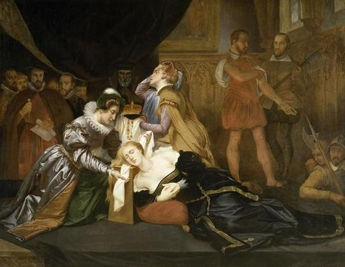 Execution of Mary, reyna of Scots