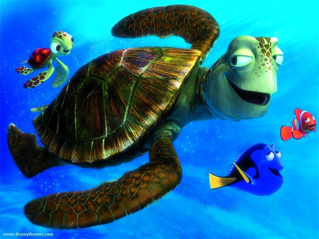 crush from finding nemo
