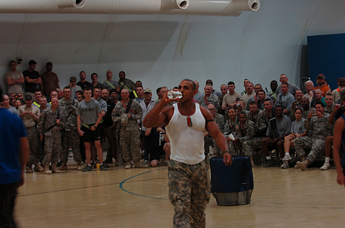 Gladiators supporting the troops in Iraq!