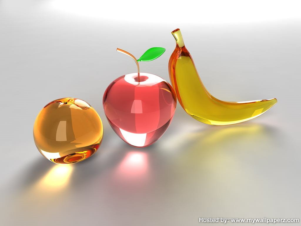 Fruit Glass Fruit Wallpaper