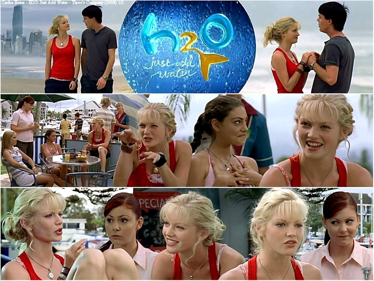 Cariba Heine And Phoebe Tonkin Images H2o Just Add Water 2x24