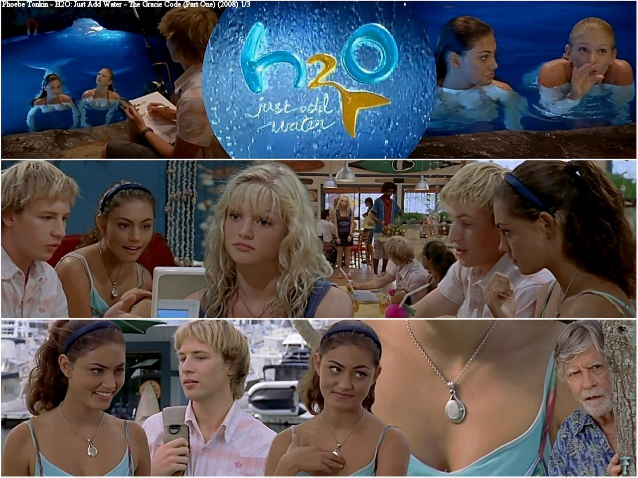 Cariba Heine And Phoebe Tonkin Images H2o Just Add Water 2x19