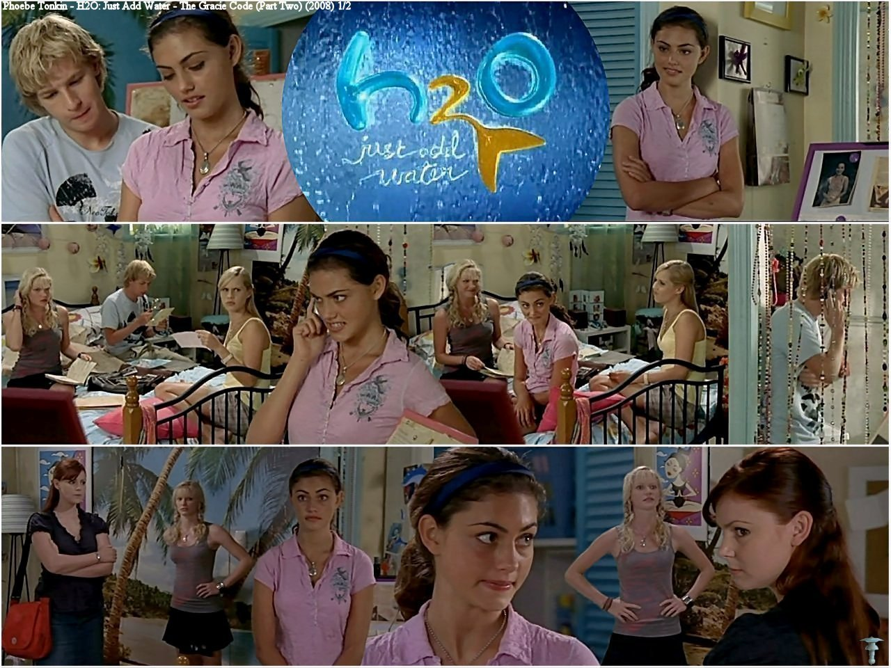 Cariba Heine And Phoebe Tonkin Images H2o Just Add Water 2x20