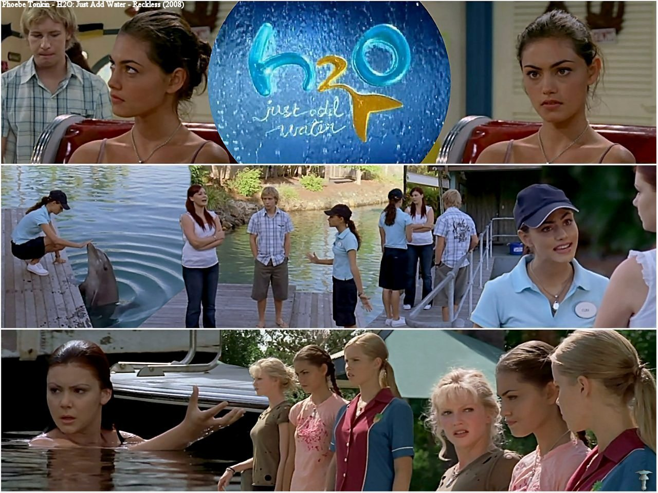 Cariba Heine And Phoebe Tonkin Images H2o Just Add Water 2x23