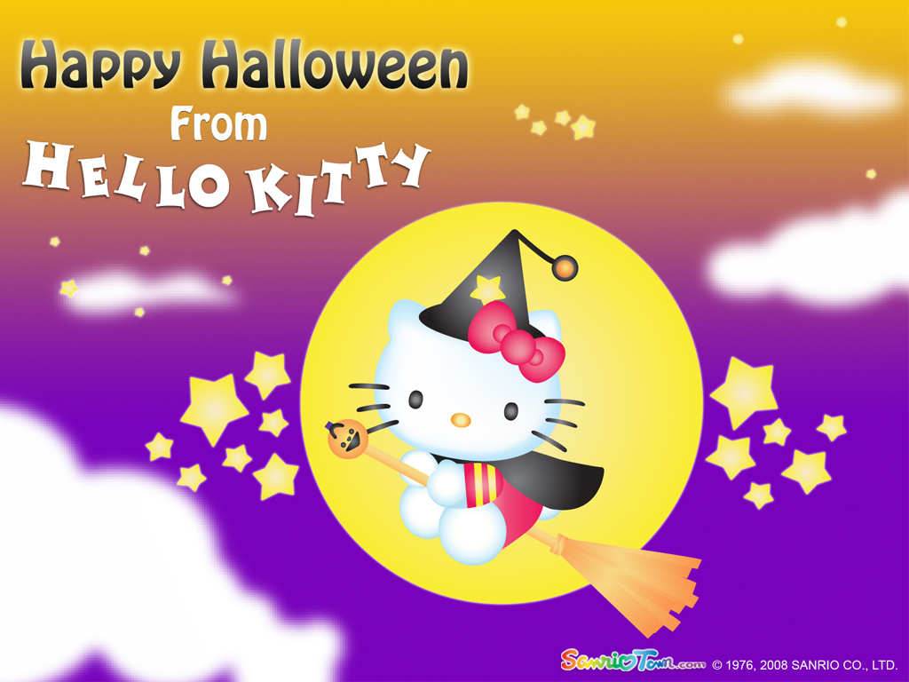 Hello Kitty Images Halloween Wallpaper Hd Wallpaper And Background