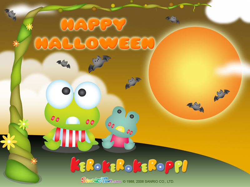 Halloween Wallpaper - Keroppi Wallpaper (2555319) - Fanpop