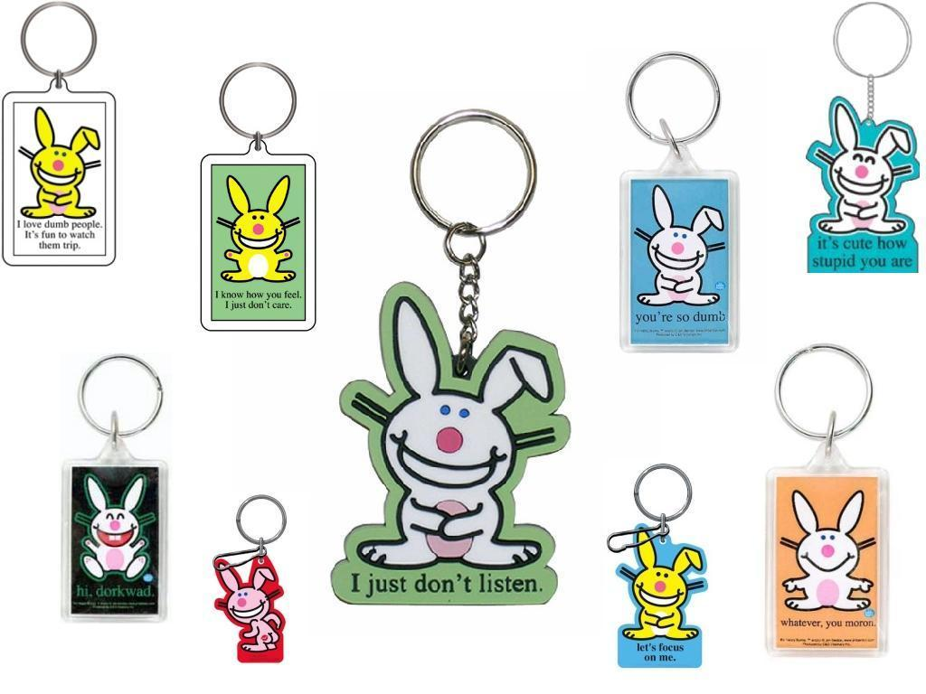 Happy Bunny Keychains Wallpaper