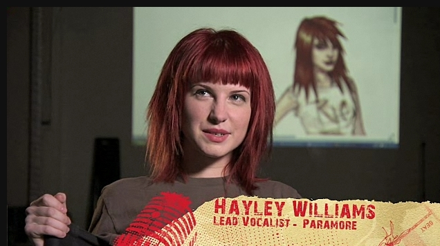 Hayley Williams Haircut In Ignorance