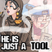 He Is Just A Tool - phoenix-wright icon