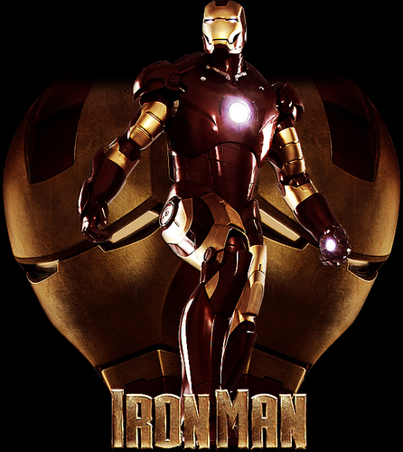 Iron Man The Movie wallpaper entitled IRON MAN