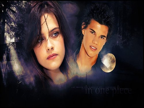 Jacob and Bella wallpaper possibly containing a portrait called Jacob & Bella