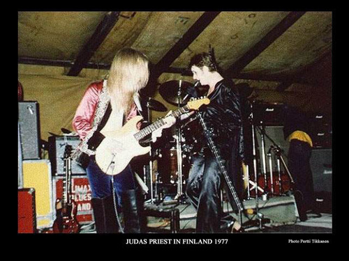 K.K. and Rob Halford