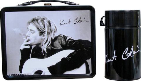 Lunch Boxes wallpaper called Kurt Kobain Lunch Box