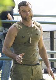 Liev Schreiber(Victor Creed a.k.a.Sabretooth)