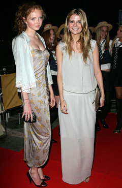 Lily and Mischa Barton