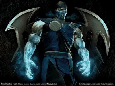 Mortal Kombat wallpaper possibly containing Anime called MK