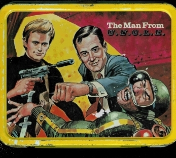 Man From UNCLE Vintage 1966 Lunch Box