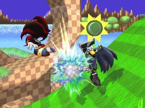 Super Smash Bros. Brawl karatasi la kupamba ukuta entitled Metal Sonic