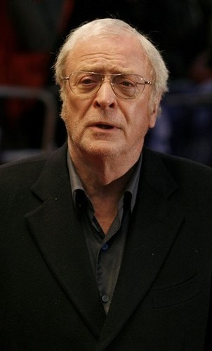 Michael Caine Looking Scruffy :)