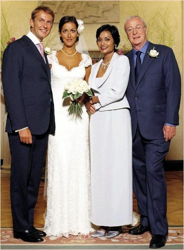 Michael Caine at Daughter Natasha's Wedding
