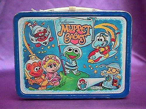 Muppet শিশুরা Vintage 1985 Lunch Box