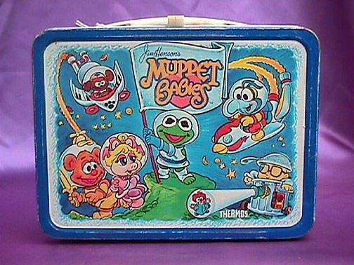Muppet bébés Vintage 1985 Lunch Box
