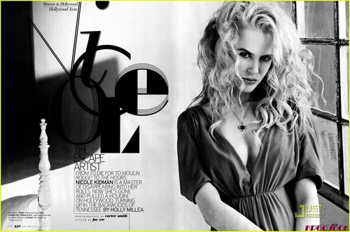 """Nicole Kidman - """"Elle"""" November 2008"""