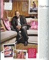 Omar Epps in In Style Magazine