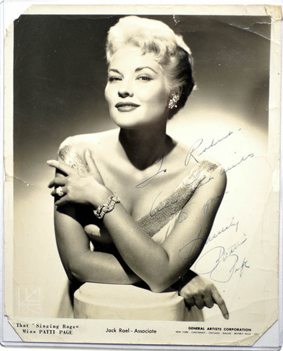Rock'n'Roll Remembered wallpaper called Patti Page