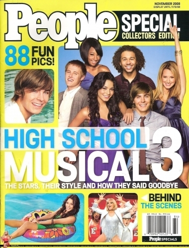People Magazine Special Collector's Edition HSM3 - October People-Magazine-Special-Collector-s-Edition-HSM3-October-ashley-tisdale-2584979-380-500