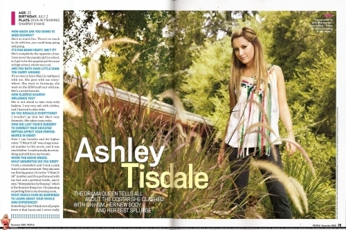 People Magazine Special Collector's Edition HSM3 - October People-Magazine-Special-Collector-s-Edition-HSM3-October-ashley-tisdale-2584994-500-333