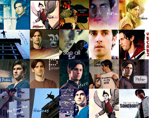Peter collage
