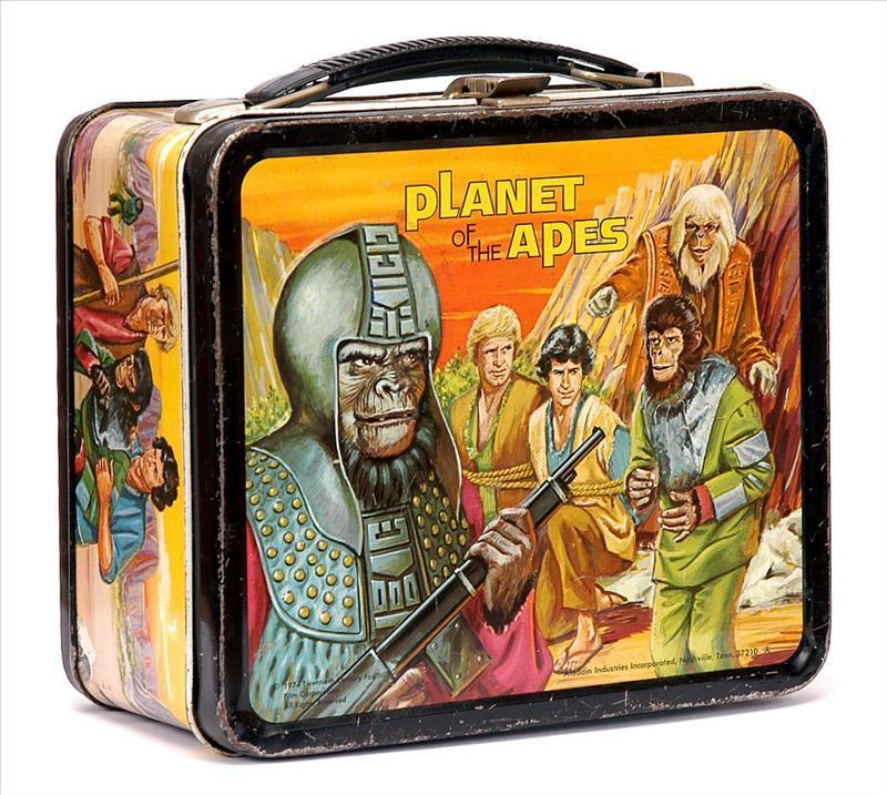 Planet of the Apes Vintage 1974 Lunch Box