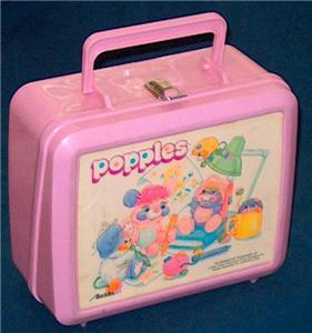 Popples Vintage 1986 Lunch Box