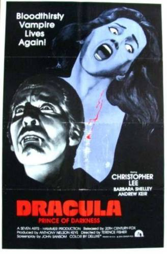 Poster of Dracula, Prince Of Darkness