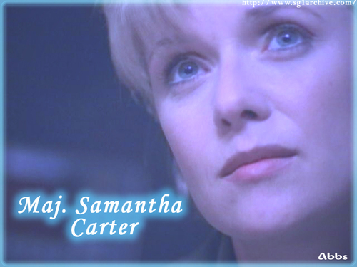 Samantha Carter achtergrond entitled Sam Carter