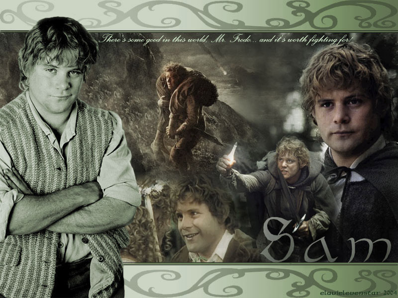 "an introduction to the samwise gamgee 12 overcome i have the world fri jan 6th morning devotion overcoming the world matthew 28:18-20 introduction samwise gamgee: ""i made a promise, mister frodo a promise 'don't you leave him samwise gamgee."