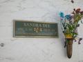 Sandra Dee's gravestone