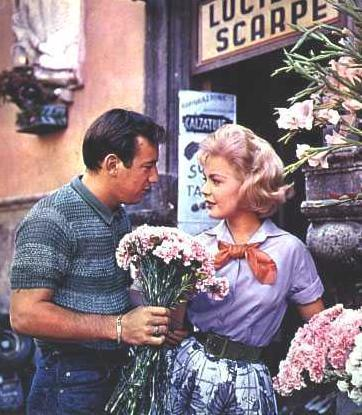 Sandra Dee and husband Bobby Darin