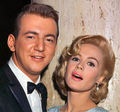 Sandra Dee and husband Bobby Darin - a-summer-place photo