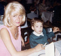 Sandra Dee and son Dodd