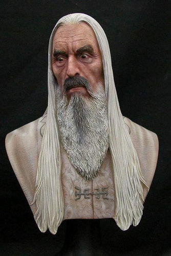 christopher lee images saruman ornament  collectible