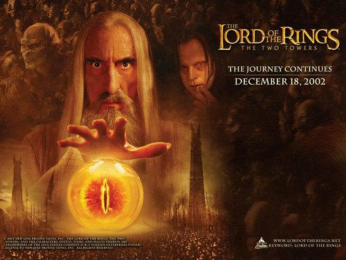 Saruman fond d'écran