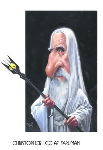 Saruman artwork