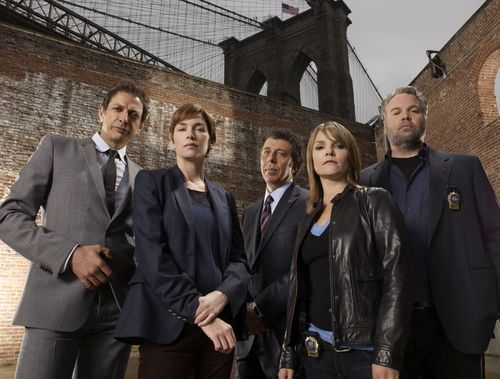 Law & Order: CI wallpaper containing a business suit titled Season 8 Cast Promo